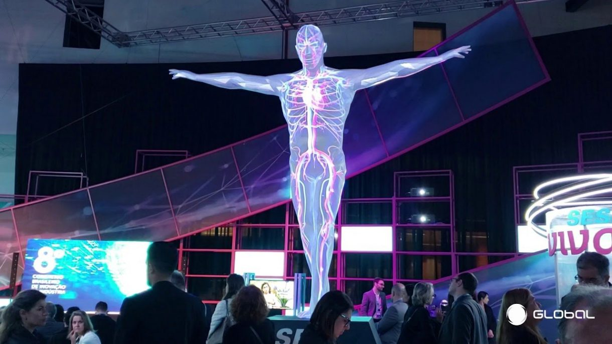 3D printing dubai projection mapping